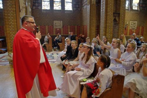 9 czerwca 2019 - Rocznica I Komunii Świętej oraz zakończenie Roku Szkolnego w PSS